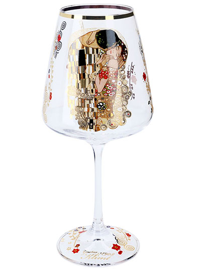 Čaša za vino - Klimt, The Kiss