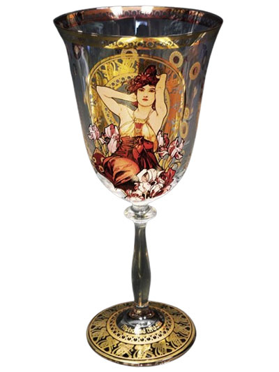 Čaša za vino - Precious Stones, Ametyst