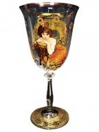Čaša za vino - Precious Stones, Emerald