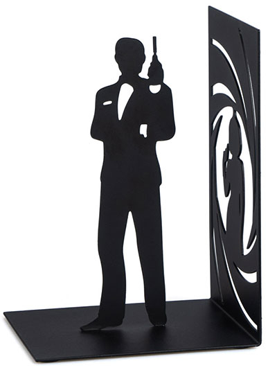 Držač za knjige - Bond, black