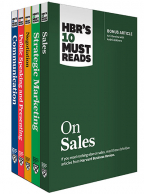 HBR's 10 Must Reads For Sales And Marketing Collection (5 Books)