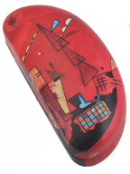 Kutija za naočare - Kandinsky, With and against