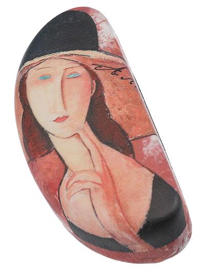 Kutija za naočare - Modigliani, The woman in the hat