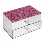 Kutijica za nakit - Girl Talk, Pink Leopard