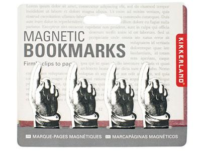 Magnetni bukmarkeri - Magnetic Pointing Bookmark, 1/4