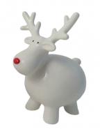 Novogodišnja figura - Fat Reindeer Standing, M