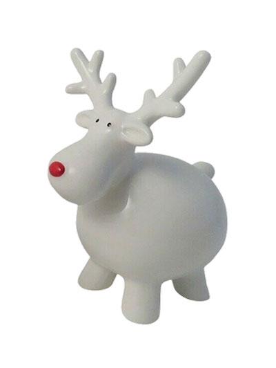 Novogodišnja figura - Fat Reindeer Standing, S
