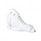 Novogodišnja Figura - Mother & Baby Polar Bears Sleeping
