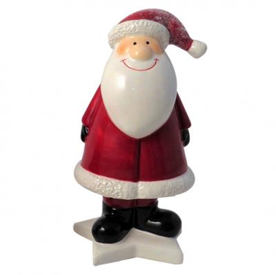 Novogodišnja figura - Santa On Star