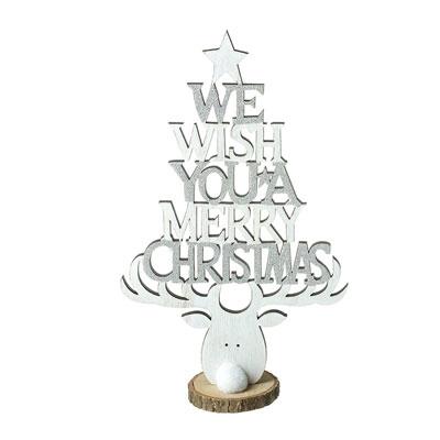 Novogodišnji Dekoracija - Merry Christmas Decoration with Reindeer