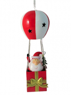 Novogodišnji ukras - Santa in Baloon, S