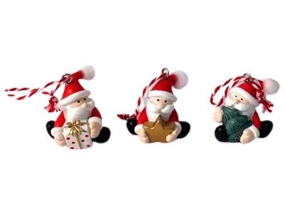 Set novogodišnjih ukrasa - Mini Santa
