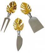 Set noževa za sir - Gold Leaf