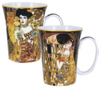 Set šolja - Klimt, The Kiss and Adelle