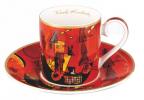 Set šolja za espreso - Kandinsky, With and against