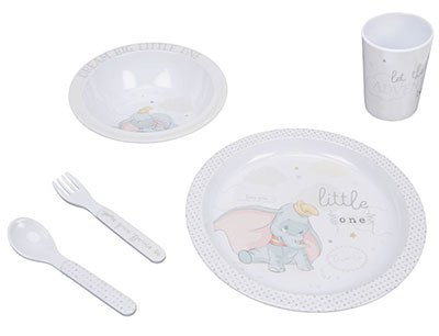 Set za jelo - Disney, Magical Beginnings, Dumbo