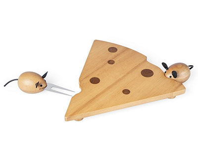 Set za sir - I Love Cheese triangular
