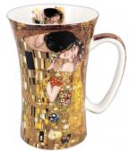Šolja - Klimt, The Kiss, brown