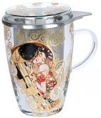 Šolja sa cediljkom i infuzerom - Klimt, The Kiss