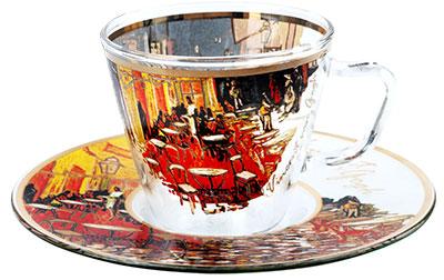 Šoljica za espreso - Van Gogh, Caffe on Terrace