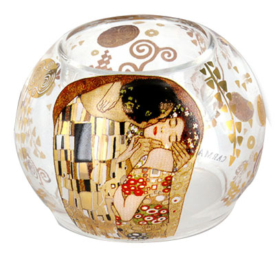 Svećnjak Tealight Holder Klimt The Kiss