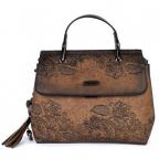 Torba - Kimmidoll, Short handle bag, brown