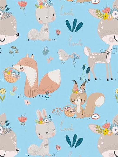 Ukrasni papir - Little Bambi