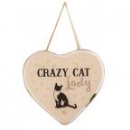 Viseća dekoracija - Best of Breed, Heart Crazy, Cat Lady