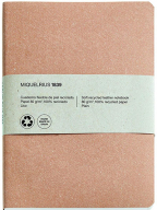 Agenda - Kraft, Recycled Leather