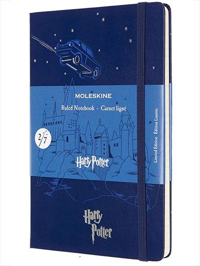 Agenda - Moleskine, Harry Potter Limited Edition, Large Ruled Hardcover Notebook - Flying Care