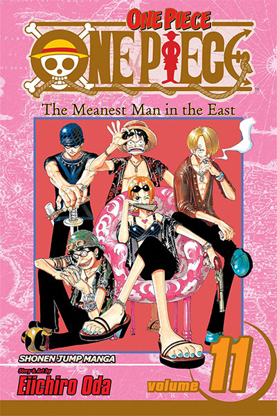 ONE PIECE: THE MEANEST MAN IN THE EAST, VOL. 11
