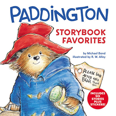 Paddington Storybook Favorites: Six Stories Plus Stickers!