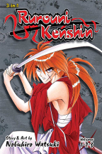 RUROUNI KENSHIN, VOL. 1 (3-IN-1 EDITION, VOL. 1, 2 & 3)