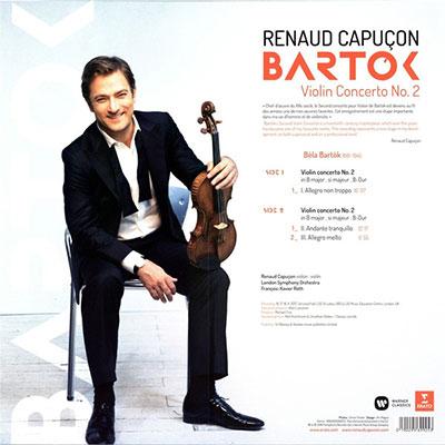 Bartok: Violin Concertos No. 2 (Vinyl)
