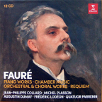 Faure: Piano Works, Chamber Music, Orchestral & Choral Works, Requiem 12CD