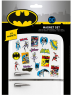 Magnet set/19 - DC Comics, Batman Retro