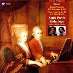 Mozart Double Concerto Klavierkonzert Nr.20 D-Moll Kv466 Konzert Für 2 Klaviere Nr.10 Es-Dur Kv365 (Vinyl)