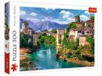 Puzzle - Old Bridge in Mostar, Bosnia and Herzegovina