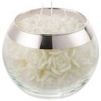 Sveća - Pearl Rose, Silver Metallic
