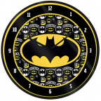 Zidni sat - Batman Logo