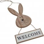 Uskršnja dekoracija - Hanging rabbit, Welcome