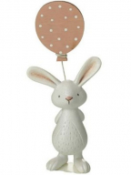 Uskršnja figura - Rabbit holding ballon
