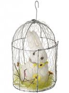 Uskršnja figura - Rabbit in a birdhouse