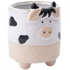Saksija - Stoneware, Cow