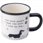 Šolja - Woofs And Whiskers, The More People I Meet The More I Like My Dog...