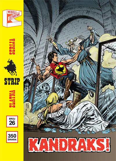 Zlatna serija 26 - Zagor: Kandraks! (korica C)