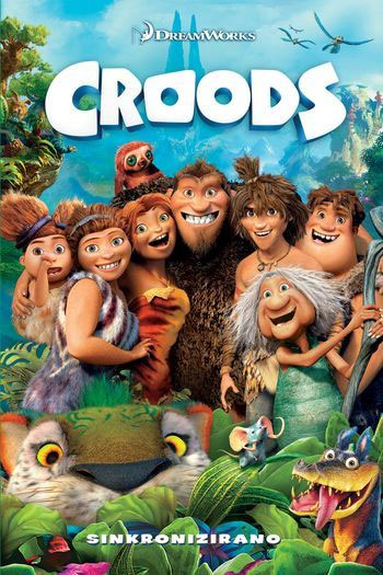 Croods, dvd