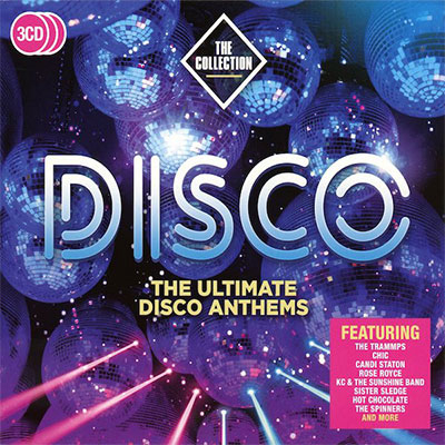 Disco - The Ultimate Disco Anthems (3 x CD)