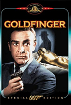 Goldfinger, dvd