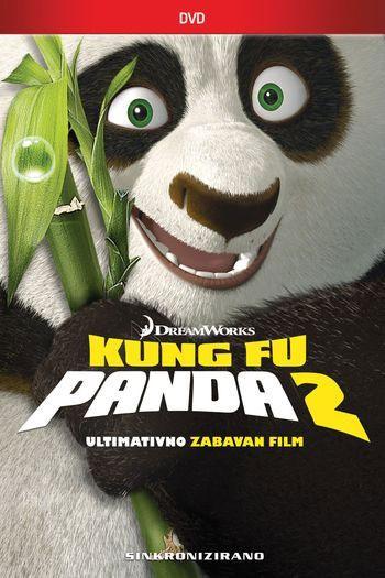 Kung fu Panda 2, dvd